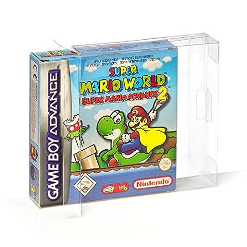 20 Klarsicht Schutzhüllen Nintendo GAME BOY ADVANCE [20 x 0,3MM
