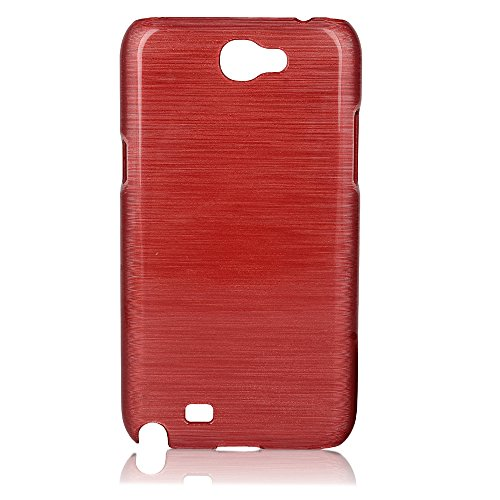 ImagineDesign Premium Marbello Finish Ultra Thin Hard Case Back Cover for Samsung Galaxy Note 2 N7100 (Maroon Wine Red)  available at amazon for Rs.129