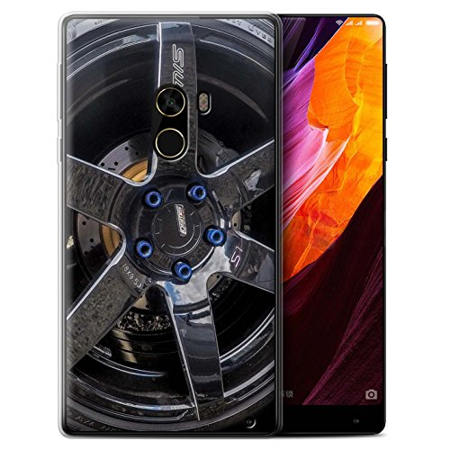 Stuff4®Phone Case/Cover/Skin/oth-gc/Alloy Wheels Collection Negro/Azul Xiaomi Mi Mix 2