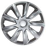 VERON CARBON Silber - 13 Zoll, passend für fast alle Audi z.B. für TT 8J