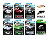 Hot Wheels Forza - Set of 7 Diecast Car's (Falcon Ford Race Car, AMC...
