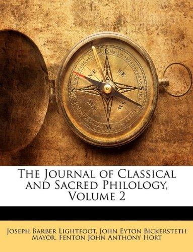 The Journal of Classical and Sacred Philology, Volume 2