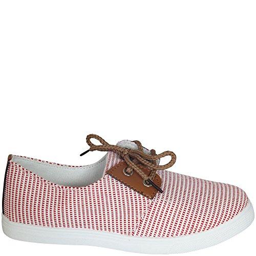 Maritime Farben trend sommer frühlings boots damenschuhe zum schnüren maritime