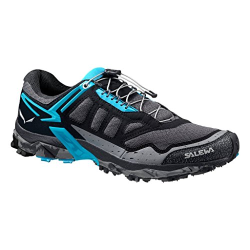 Salewa Ultra Train - Bergschuh Damen Damen Outdoor Fitnessschuhe Schwarz (Black Out/Ocean 0961)