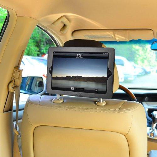 Auto Kopfstützenhalterung iPad 4 / iPad 3 / iPad 2 Kfz Halterung Kopfstütze - von TFY