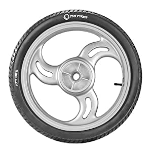 TVS Tyres ATT 825 110/80-17 57P Tubeless Bike Tyre,Rear