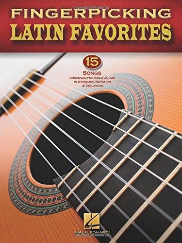 Fingerpicking Latin Favorites Guitar Solo Gtr Bk