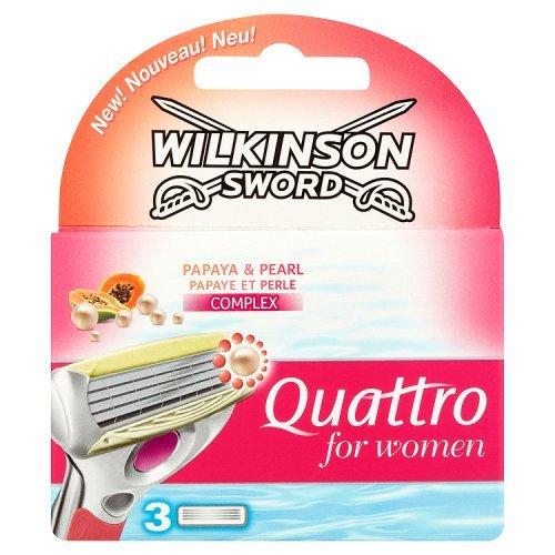 Wilkinson Lame Ricambio Bikini / Quattro per Donne - 26 gr