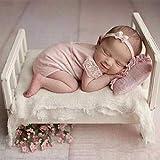 Sensecrol Baby Photo Puntelli Puntelli Neonato Fotografia Lettino Lettino Piccolo in Legno in Posa Baby Photo Studio Puntelli per Foto Accessori per la casa