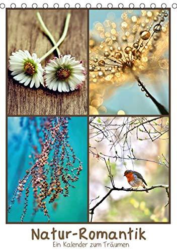 Natur-Romantik (Tischkalender 2020 DIN A5 hoch): Die Natur ist mir ihren Farben, Formen und ihrer Vielfalt kaum zu übertreffen. Dieser Kalender wird ... (Monatskalender, 14 Seiten ) (CALVENDO Natur)