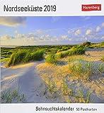 Nordseeküste - Kalender 2019: Sehnsuchtskalender, 53 Postkarten -