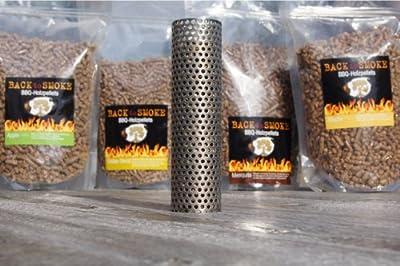 Smoking Tube + Pellets BACK to SMOKE, Buche, Beutel á 1,25 kg