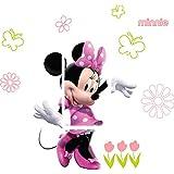 Disney Minnie Mouse Light Switch Sticker Kids/Bedroom