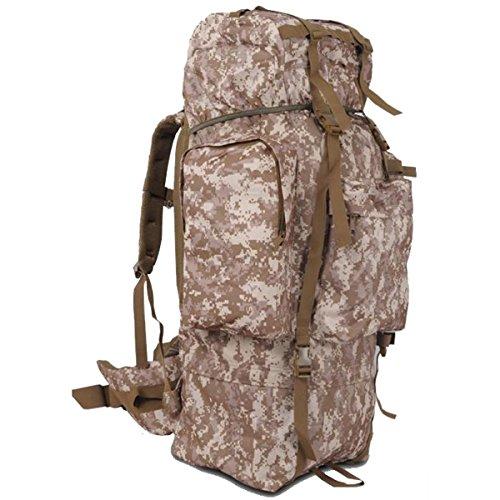 100 L Sport Zaino Da Viaggio Campeggio Trekking Per Il Tempo Libero Pacchetto Di Alpinismo Zaino,JungleCamouflage DesertCamouflage