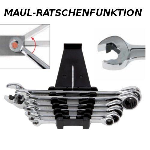 Würth Zebra Jeu de clés mixtes à cliquet 8-19 mm