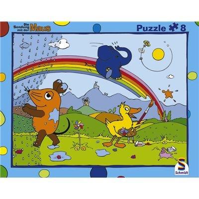 Schmidt Spiele - Puzzle con Marco de 8 Piezas