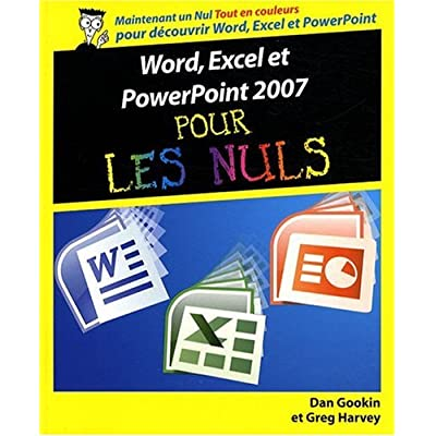 WORD EXCEL POWERPOINT 2007 NUL