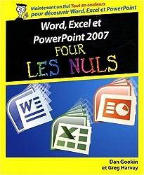 WORD EXCEL POWERPOINT 2007 NUL