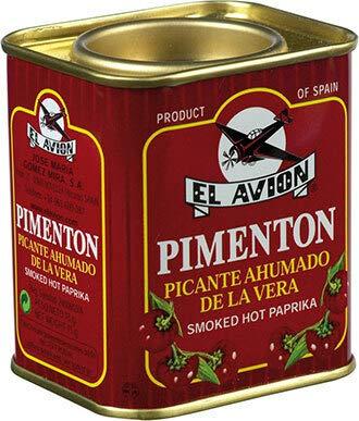 Pimentón Picante Ahumado Scharfes geräuchertes Paprikapulver (Dose 75g) -