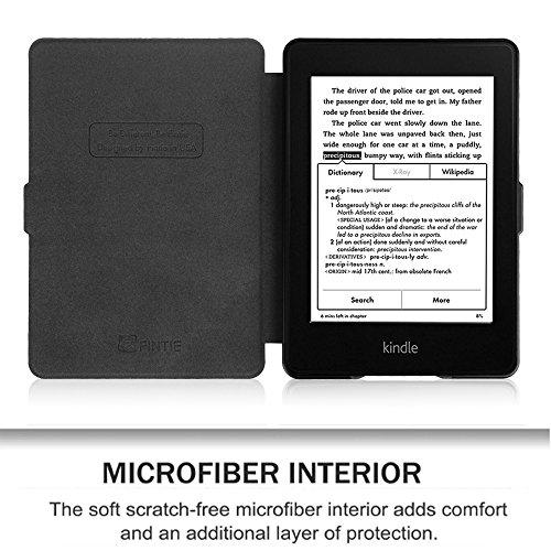 Fintie Etui Kindle Paperwhite - étui Cover Flip super fin et léger, fermeture magnétique avec mise en veille automatique pour Amazon All-New Kindle Paperwhite (Convient à touts les versions: 2012, 201 Z -Vintage Brown