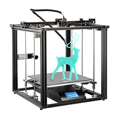 Creality 3D Ender 5 Plus 3D-Drucker mit BLTouch, Glasplatte und Touchscreen, Große Druckgröße von 350x350x400mm