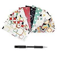 ForeWan Budget Envelopes kit, Waterproof Cash Envelopes, Finance Planner - 12Pcs Small Envelopes + 12Pcs Recording Card + 1 Paper Sticker + 1PCS Pencil (Style-B)