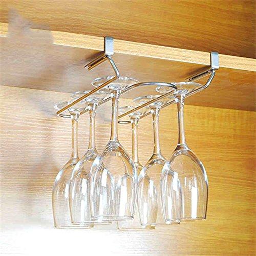 L&Y Meuble de cuisine Porte-gobelets en acier inoxydable Porte-gobelets en ups en panne Étagère de rangement (taille : B)