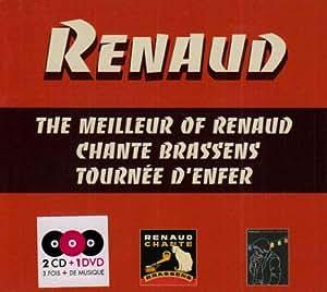 The Meilleur Of Renaud - Chante Brassens - Tournée D'Enfer (Coffret 2CD+DVD)