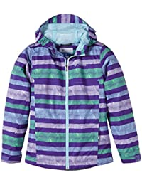 Columbia Splash Maker III Rain Jacket - Chaqueta para niña, color violeta, talla L