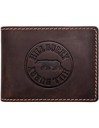 d197d8a48205 Hill Burry Portefeuille Cuir Véritable Homme   Porte-Monnaie en Cuir  véritable de première qualité