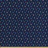 ABAKUHAUS Navy blau Gewebe als Meterware, Indigo