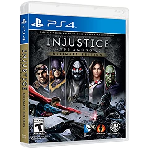 Warner Bros Injustice: Gods Among Us Game of the Year Edition, Playstation 4