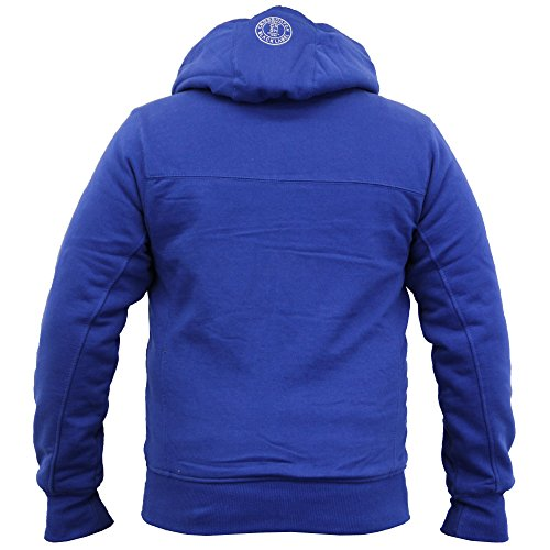 Crosshatch Herren Jumper Kapuzenpullover, Einfarbig blau blau Small blau - GlasStar