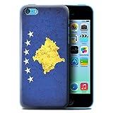 Coque de Stuff4 / Coque pour Apple iPhone 5C / Kosovo/Kosovar Design / Drapeau Europe Collection