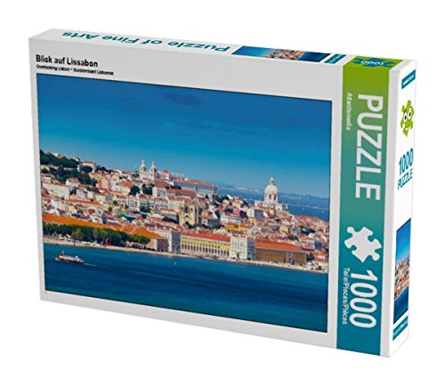 Preisvergleich Produktbild CALVENDO Puzzle Blick auf Lissabon 1000 Teile Lege-Größe 64 x 48 cm Foto-Puzzle Bild von Atlantismedia