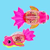 ZZbaixinglongan Practical Bath Toys with Pull Lines Small Dolphins Floating Attractive Spray Water Bathtub Swimming Toy