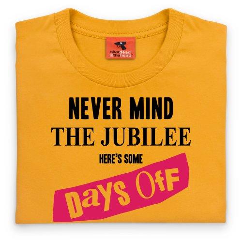 Days Off T-Shirt, Herren Gelb