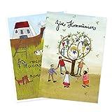2er Set Glückwunschkarten zur Kommunion von Silke Leffler