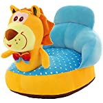 IIWOJ Childrens Ride Chair Plush Lion Sofa Fashion Gift