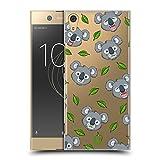 Head Case Designs Koala Niedliche Tiere Ruckseite Hülle für Sony Xperia XA1 Ultra/Dual