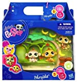 Littlest Pet Shop Pet Triplets - Monkeys by Hasbro