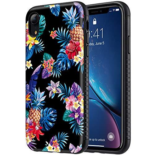 Uarmor iPhone XR Schutzhülle, ultradünn, modisch, bunt, für Mädchen, weiches TPU-Gummi, kompatibel mit Apple iPhone XR 2018, Blumen (Bunte Safe)