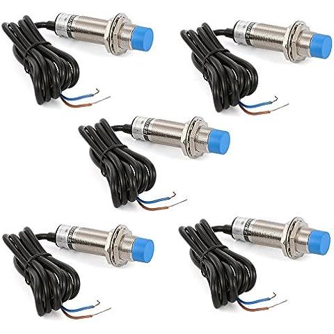XCSOURCE 5pcs LJ18A3-8-Z / EZ 300mA 8 millimetri di rilevazione del sensore di prossimit¨¤ induttivo Interruttore 90-250V AC 2 Figlio normalmente aperto TH284