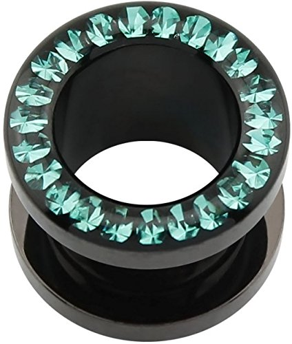 eeddoor-acryl-flesh-tunnel-schwarz-blue-zircon-bz-epoxy-12-mm-flesh-tunnel-ohr-lobe-tube-plug-pierci