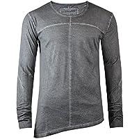trueprodigy uomo T-Shirt Maglietta Manica Lunga Alpha