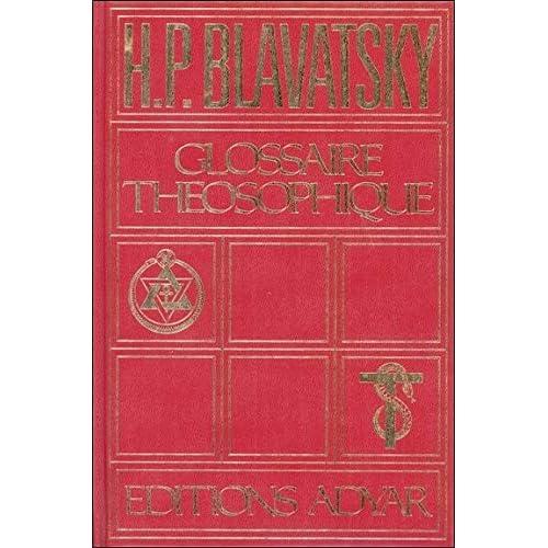 Le glossaire théosophique