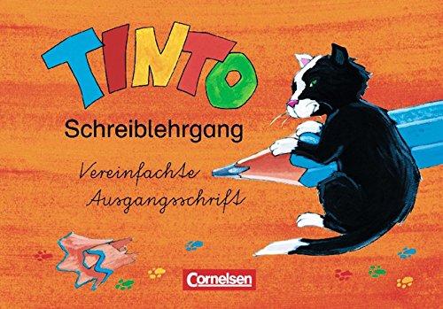 Tinto 1 - Zu allen JÜL-Ausgaben 2003 / 1./2. Schuljahr - Schreiblehrgang in Vereinfachter Ausgangsschrift, 2. A