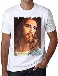 Jesus Christ Handsome H T-shirt,cadeau,Homme,Blanc,t shirt homme