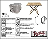 Raffles Covers Abdeckplane für quadratische Gartentisch 85 x 85 cm Schutzhülle für rechteckigen Gartentisch, Abdeckhaube für Gartentisch, Gartenmöbel Abdeckung