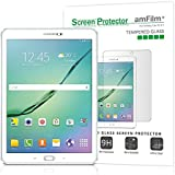 amFilm Galaxy Tab S2 9.7 Tempered Glass Screen Protector, 0.33mm 2.5D Rounded Edge for Samsung Galaxy Tab S2 9.7 inch WiFi Only (2015)(1-Pack) [Lifetime Warranty]